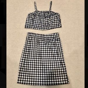 Dresses & Skirts - gingham two piece